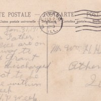 HH63-Postcard from Henry to william - Jan 31, 1919 - discharge and coming home - side 2_0001.jpg
