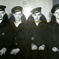 AF754-WWII_WARNICK, DONALD L, GERALD E WILLIS, KENNETH J MEARS, FREDERICK CHURCHMAN, 2-14-1943.jpg