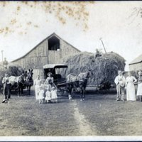 BIO502-hay making at Grandma Emmas - 1905 Cisco IL001.jpg