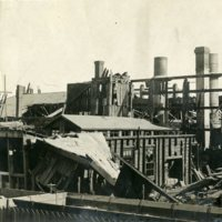 Photographs from the Central Malleable Iron Works Fire