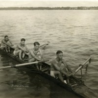Photograph of the Decatur Boat Club.