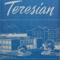 1956 St. Teresa High School Teresian