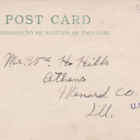 HH88-Postcard to William Hibbs - Nov 8, 1918 - English Port -from Henry and Johnny_0001.jpg