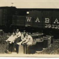 RF167-girls_playing_in_Wabash_train_yard214.jpg